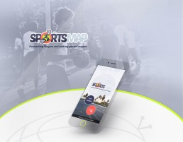 SportsMap designed by LEMUN DIGITAL